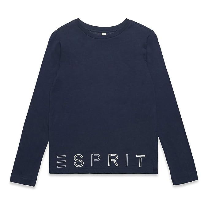 ESPRIT Girls Tee-Shirt Long Sleeve Perm Top