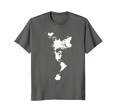 Amazon white dymaxion world map t shirt alternative projection amazon white dymaxion world map t shirt alternative projection clothing gumiabroncs Gallery