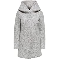Only Onlnewsedona Wool Coat CC Otw Abrigo de Mezcla de Lana para Mujer