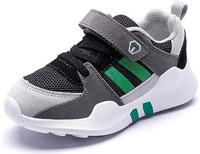 Baskets Enfant Sneakers Basses Respirant Chaussure de Course Fille Gar/çon Mode Sport Running Shoes Comp/étition Entra/înement 26-37 Outdoor Indoor