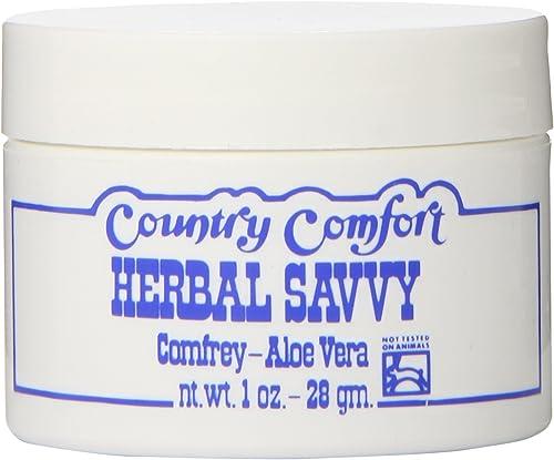 Country Comfort Comfrey Aloe Vera Savvy 1 Oz
