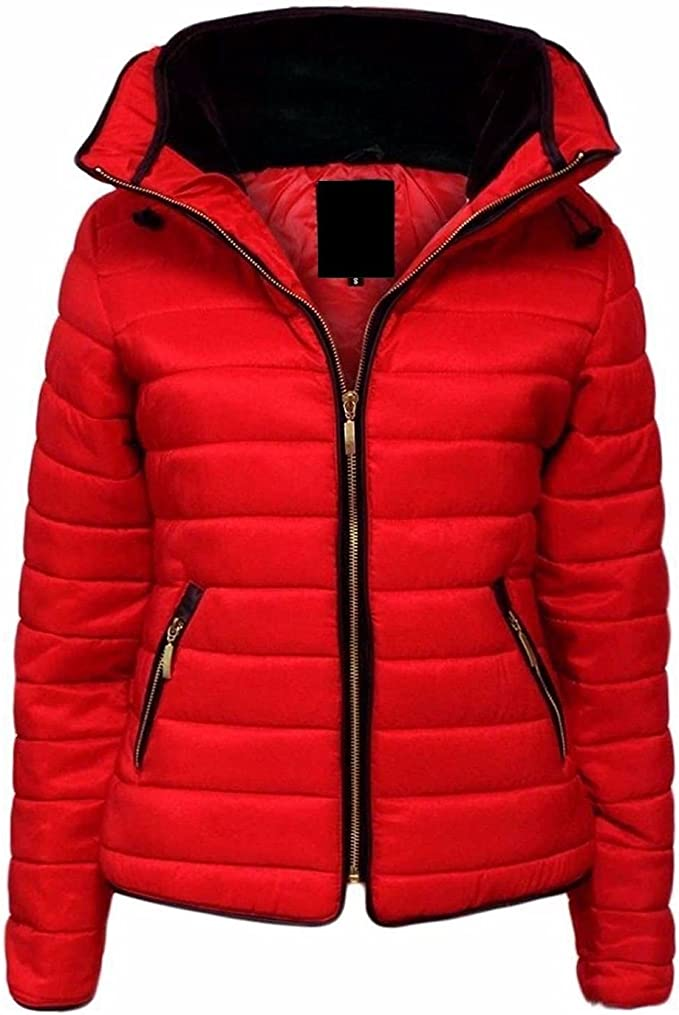 Mymixtrendz/® Kids Girls Jacket Kids Stylish Puffer Bubble Fur Collar Padded Quilted Warm Coat Years 7-13