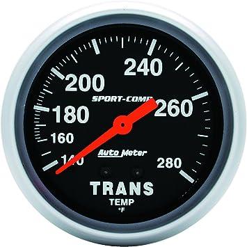 Auto Meter 3552 Sport-Comp Electric Transmission Temperature Gauge