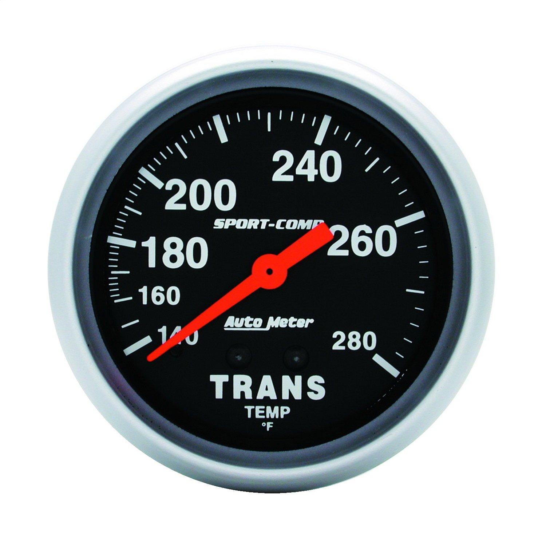 Auto Meter 3451 Sport-Comp Mechanical Transmission Temperature Gauge
