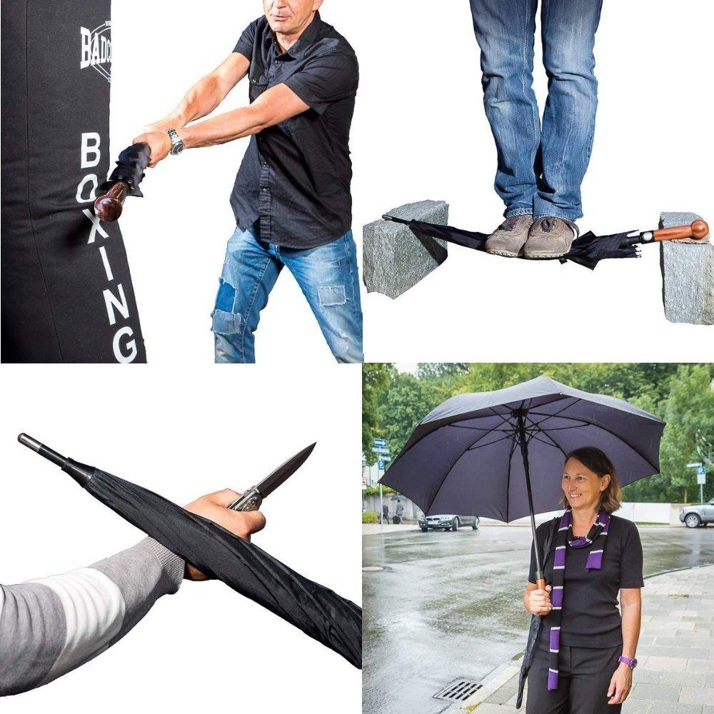 Parapluie Max.Impact France D/éfense /à pommeau massif sp/éciale d/éfense.
