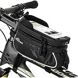WOTOW Bicicletas bolsa de teléfono celular, Bicicletas de montaje de teléfono de bicicleta, impermeable bicicleta…