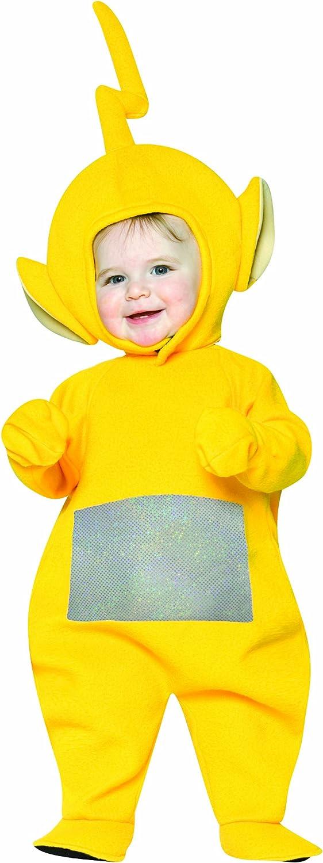 Rasta Imposta bebé y Teletubbies Laa-Laa disfraz - Amarillo ...
