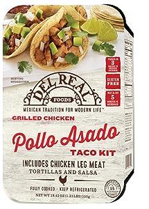 Del Real Foods Pollo Asado Taco Kit, 19.42oz