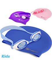 Swimming Goggles – Swim in Comfort with i-Swim Pro Originals giving you Anti Fog Crystal Clear Vision and a Watertight Comfortable Fit - Mirrored with UV Protection – Designed for Adults and Kids 10+
