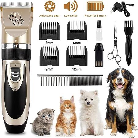 Wilktop - Máquina de Afeitar eléctrica para Perros, Animales y ...