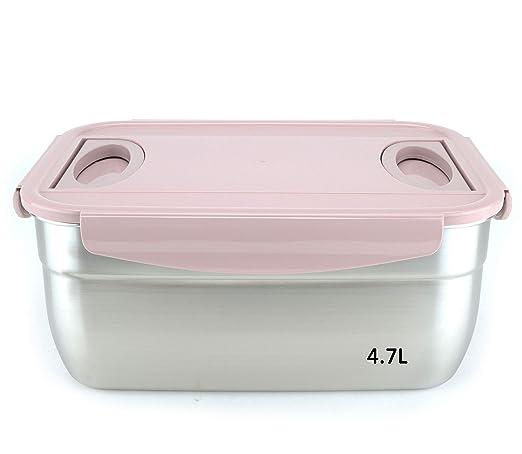 Jarra hermética e higiénica de acero inoxidable (SUS 304) - kimchi ...