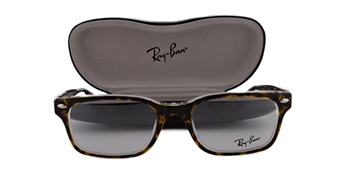 8e56cf8f05073 Image Unavailable. Image not available for. Colour  Ray Ban RX5286  Eyeglasses 51-18-135 Top Havana On Transparent 5082 ...