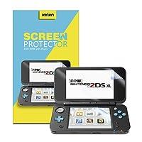 Nintendo NEW 2DS XL Displayschutzfolie [6er Pack], Keten High Definition Bildschirmrschutz für Nintendo 2DS XL mit Schutz vor Kratzern, ultradünn, berührungsempfindlich, Nicht für Wii