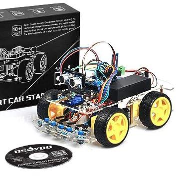 OSOYOO open source robot car electronic parts starter kit Arduino