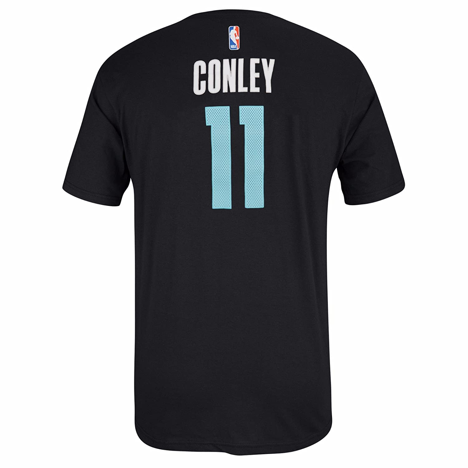 c3fe11e29 ... purchase amazon mike conley memphis grizzlies nba adidas men black  official player name number jersey t