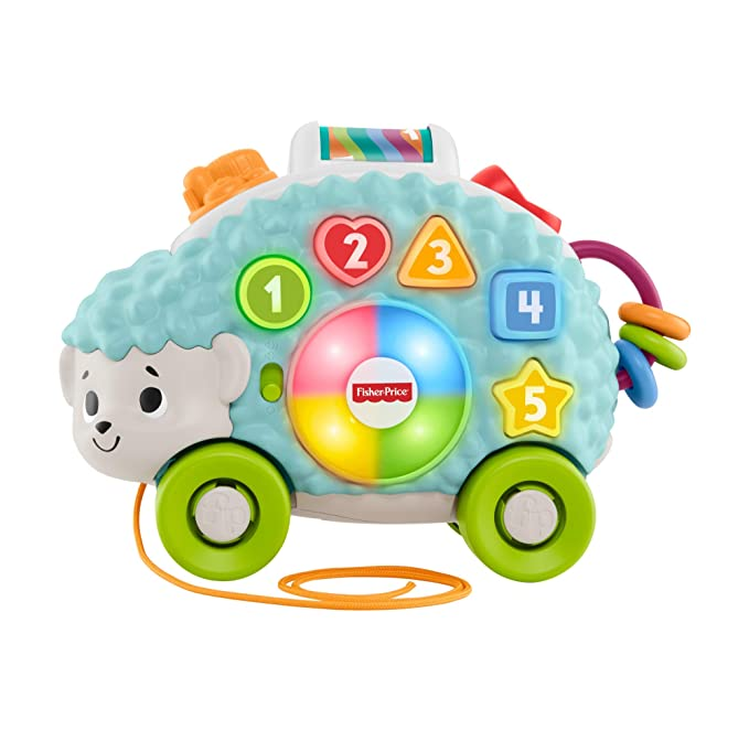 Fisher-Price Erizo Linkimals, Juguete interactivo bebés +9 meses (Mattel, GJB06)