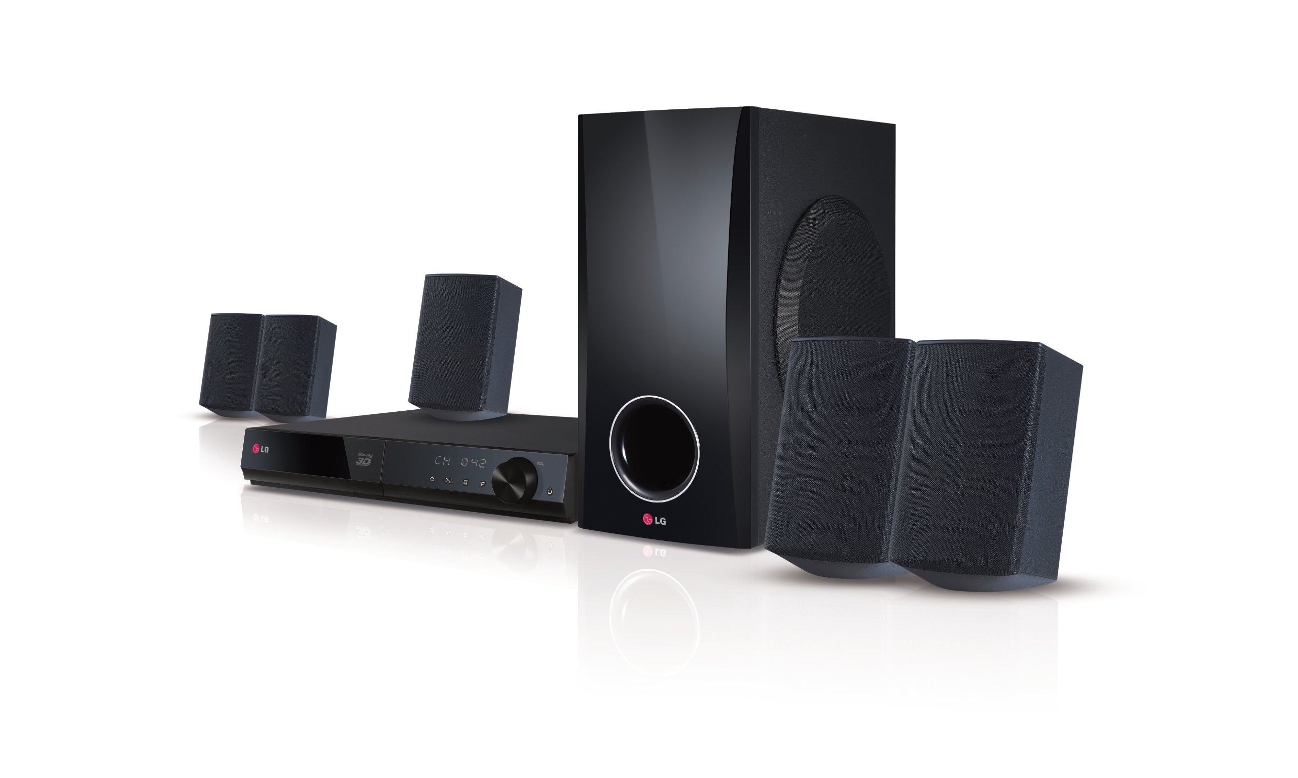 LG Electronics BH5140S 500W Blu-Ray Home Theater System with Smart TV (2014 Model) by LG