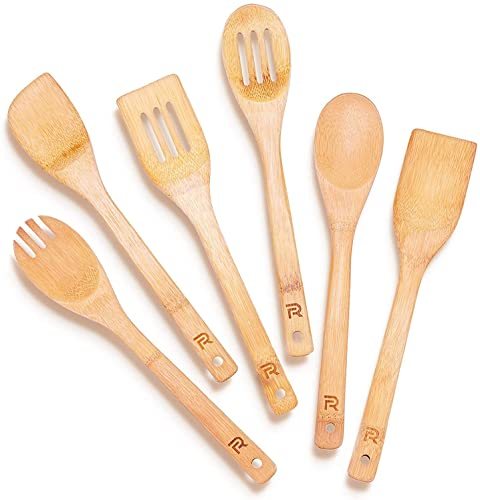 Riveira Wooden Spoons for Cooking
