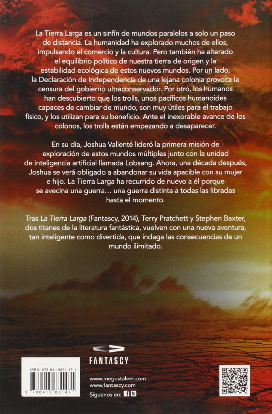 La Guerra Larga (La Tierra Larga 2) (FANTASCY): Amazon.es: Terry Pratchett, Stephen Baxter, Gabriel Dols Gallardo;: Libros