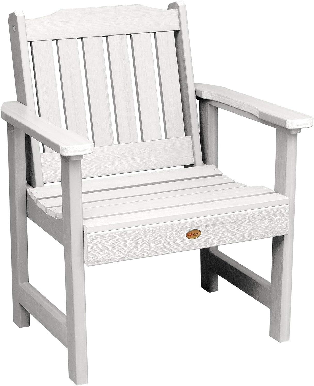 Highwood AD-CHGL1-WHE Lehigh Garden Chair, White