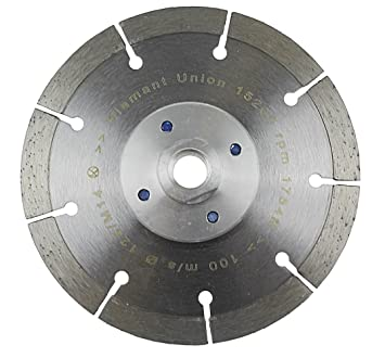 Beliebt Diamantscheibe 125 mm mit Flansch M14 Trennscheibe randnah EB12