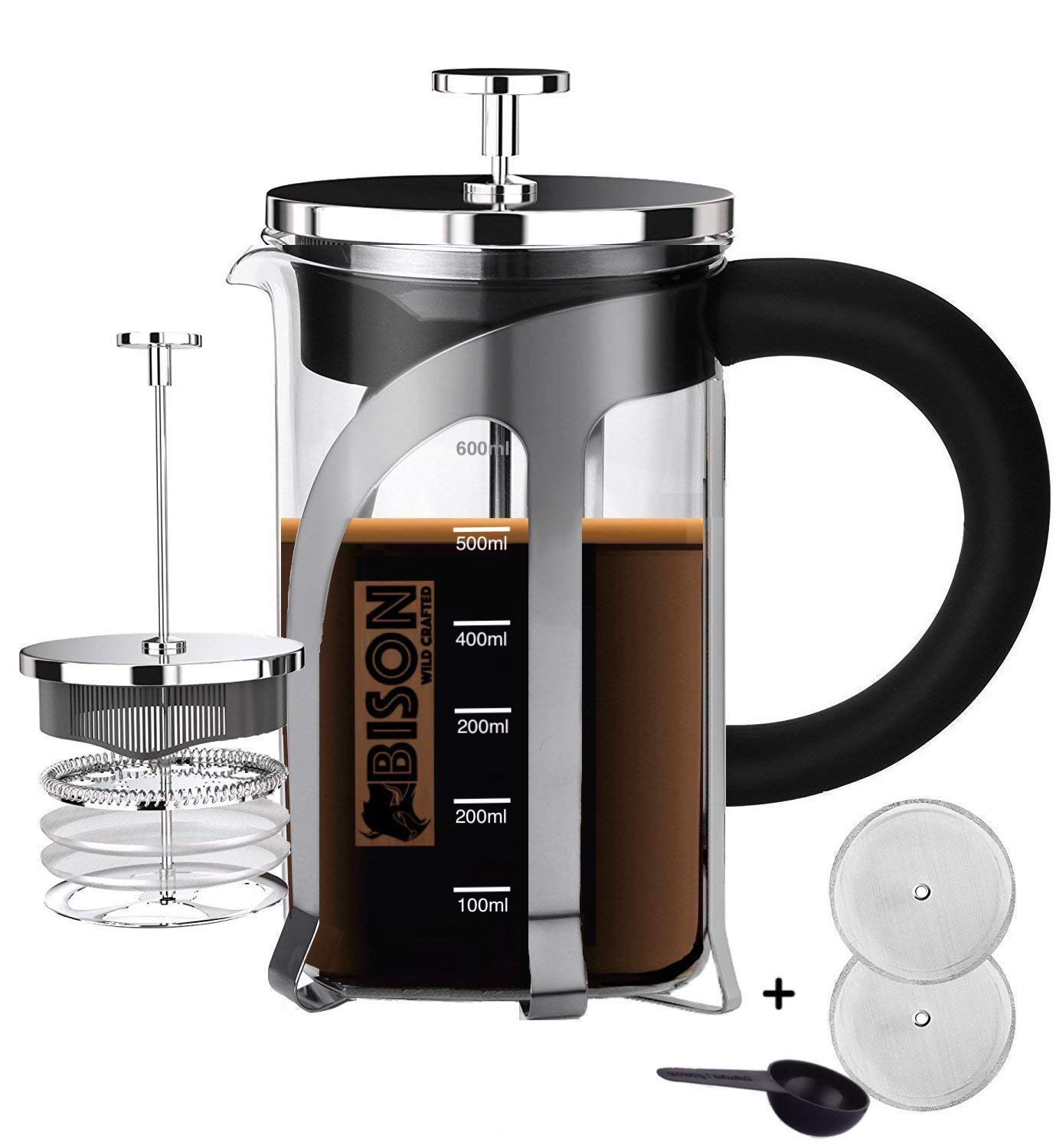 French Press Tea Maker BPA Free