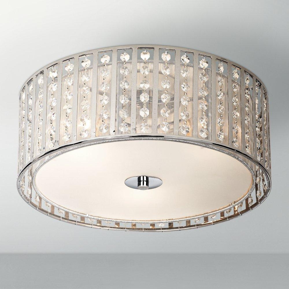 Possini euro crystal strands 15 34 wide ceiling light ceiling possini euro crystal strands 15 34 wide ceiling light ceiling pendant fixtures amazon arubaitofo Images