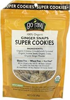 product image for Go Raw Cookie Gngrsnp Sprtd Org 3 Ounce (Pack of 5)