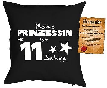 10 Geburtstag Kissen Kuschelkissen Kinder Geburtstagsfeier 10