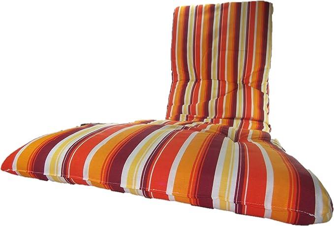 Sunny Days Hogar Colchón Tumbona Acolchada 180x55x6cm /Cojín ...