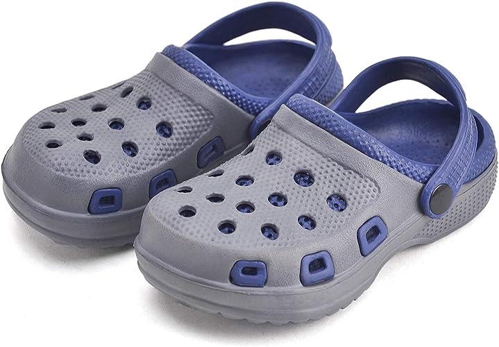 Amazon.com | VONMAY Boys Clogs Little Kids Garden Shoes Slip On Slide  Sandals Summer Water Pool Beach | Clogs & Mules