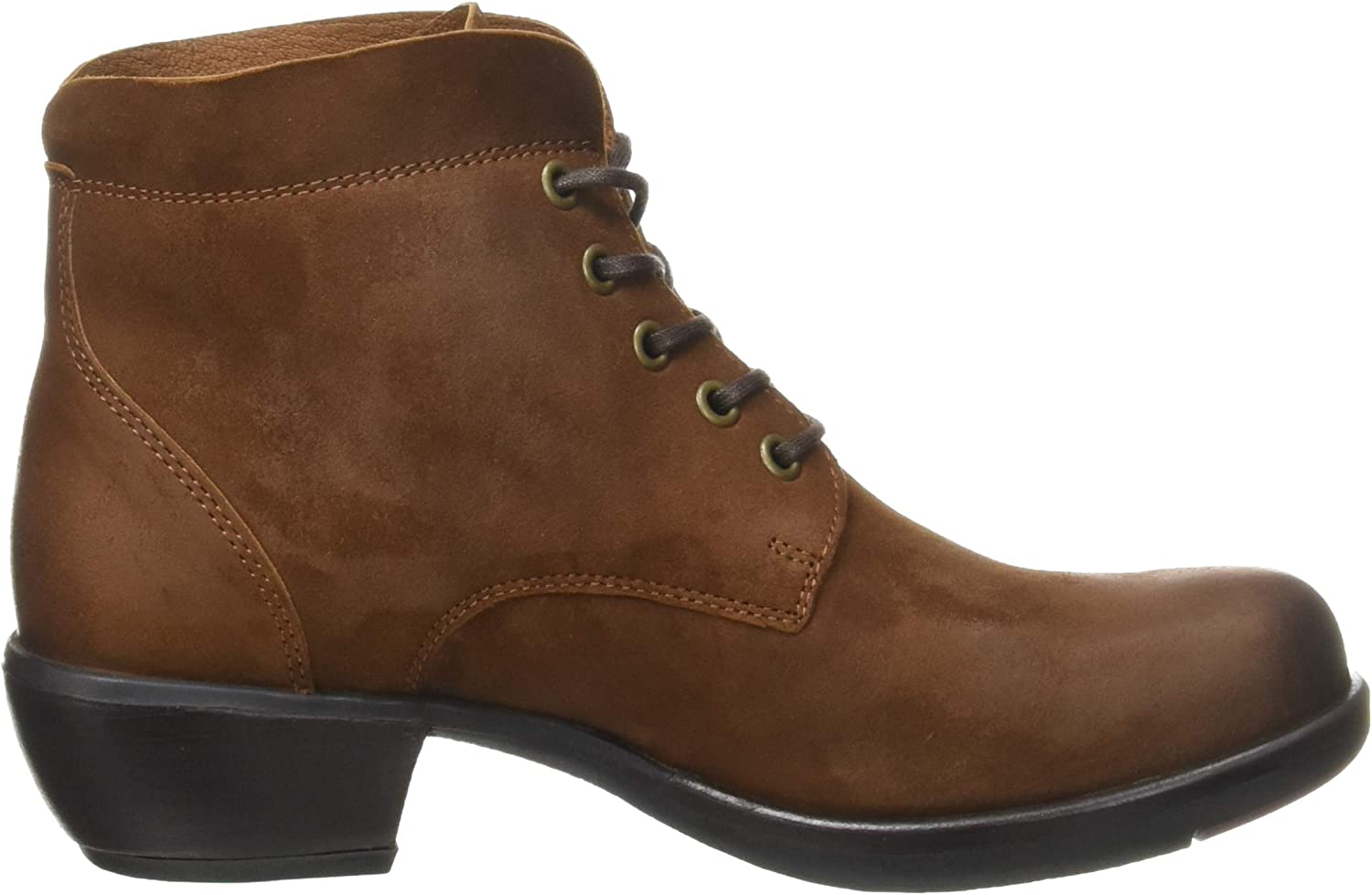 Fly London Damen Mesu780fly Stiefeletten Braun Cognac 025