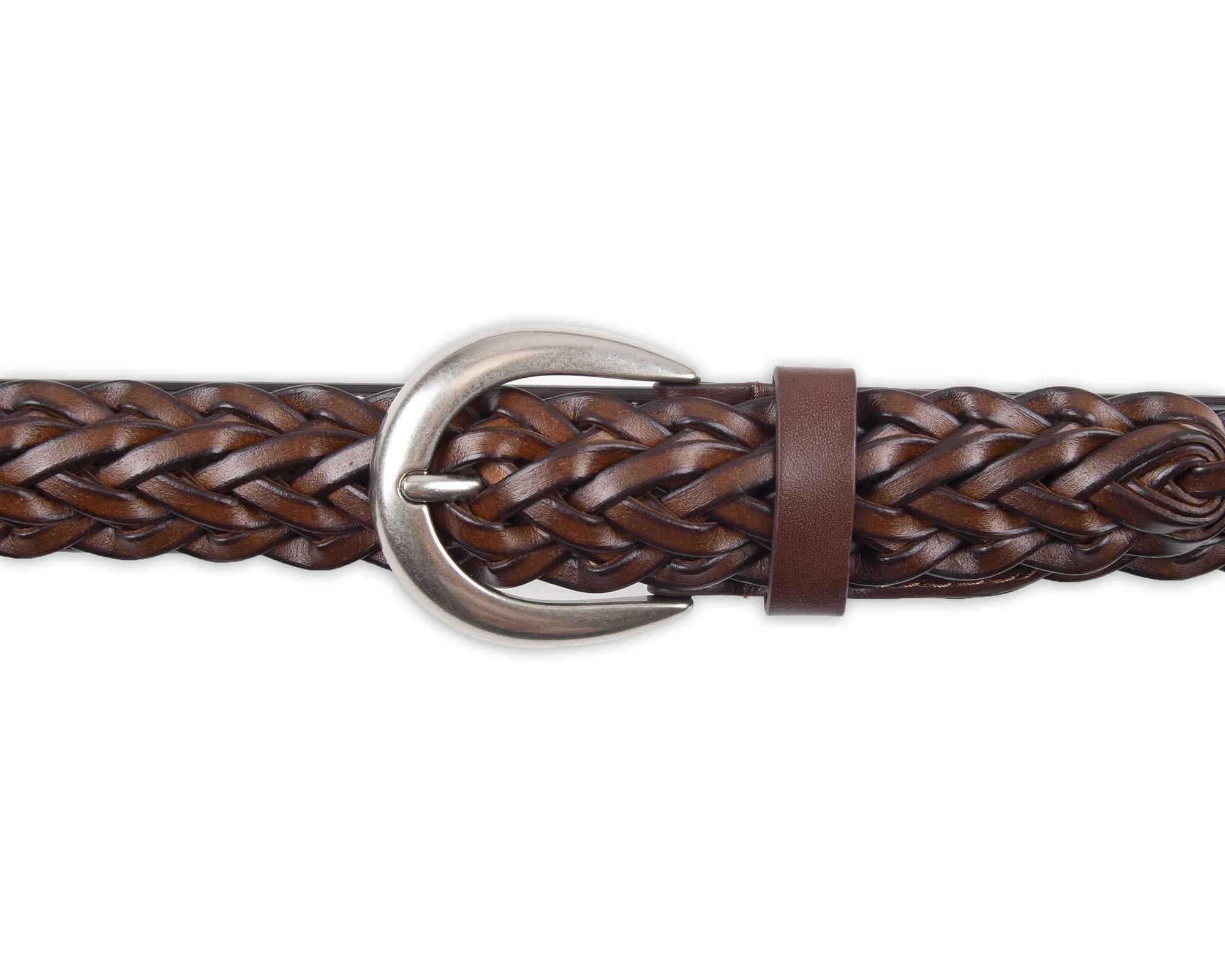 Chaps Women's Braided Woven Belt