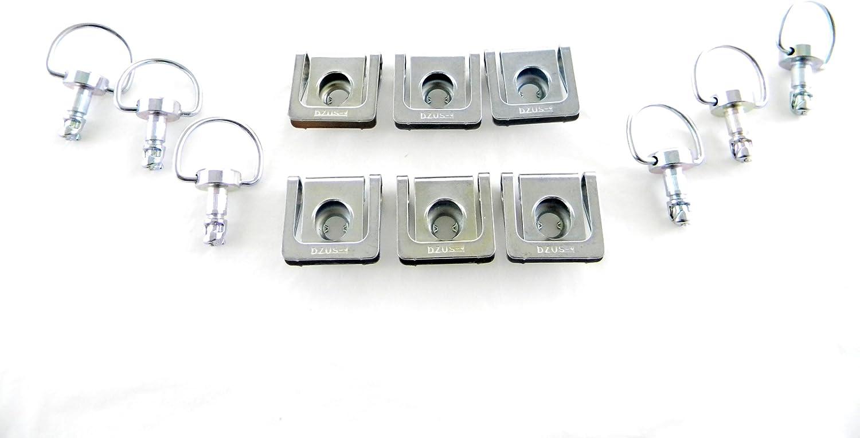 Dzus fasteners fastener kit clip style for race bodywork 6 pack free ship