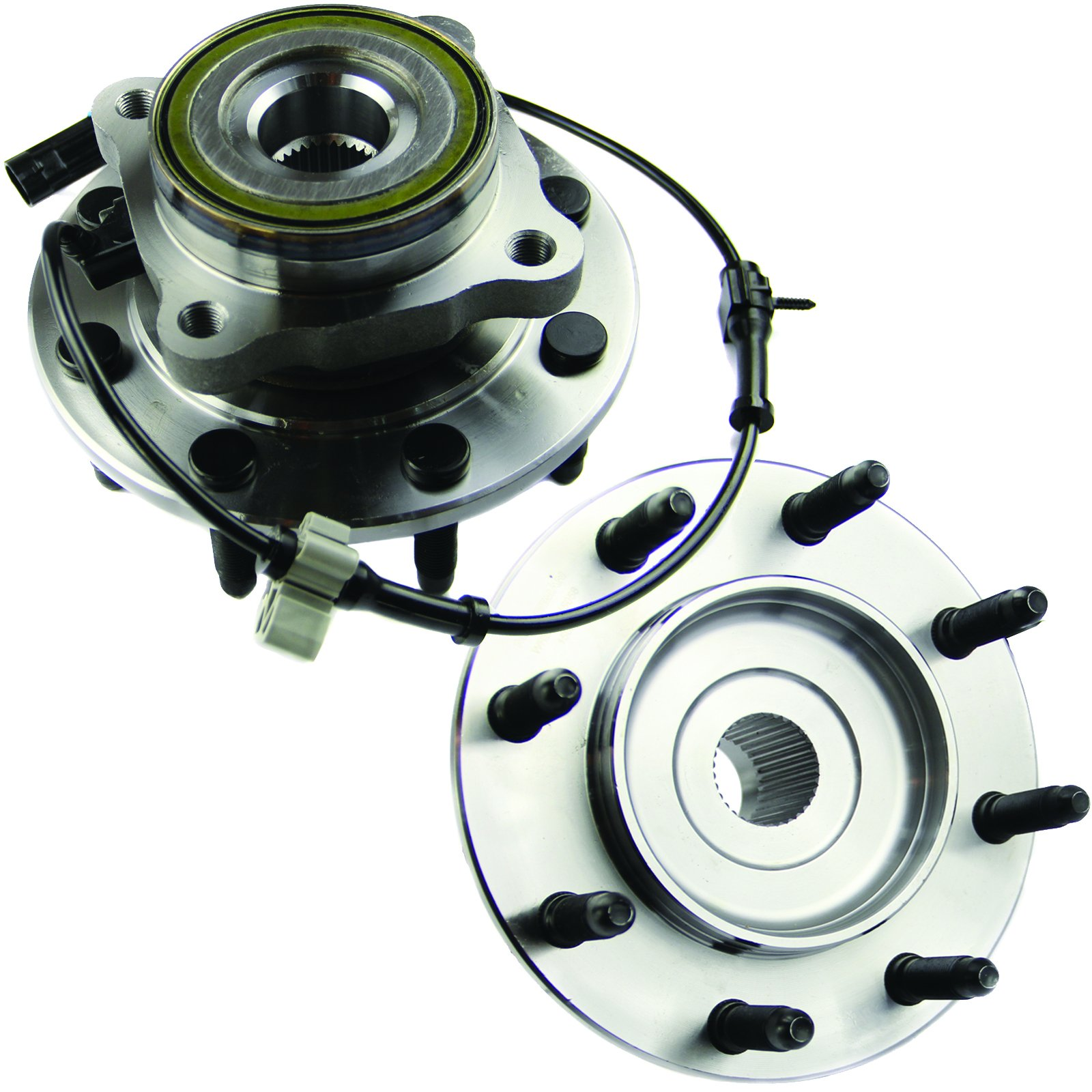 MOTORMAN 515058 Front ABS Wheel Hub and Bearing Set - Both Left and Right - Pair of 2 by MOTORMAN
