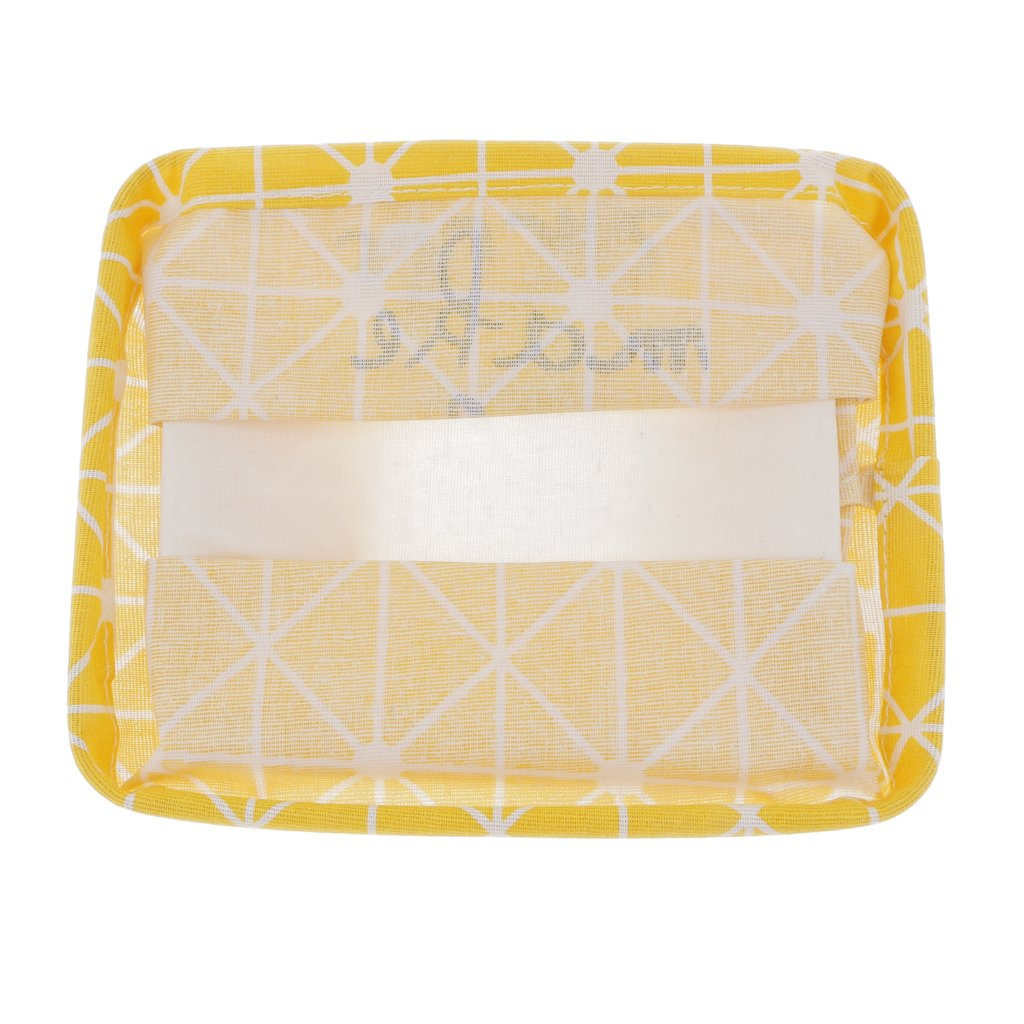 MagiDeal Cesta de Almacenamiento Plegable de Juguete Cubo de Lavandería Cuadro de Maquillaje Accesorio de Ama de Casa Gris/Amarillo - Amarillo: Amazon.es: ...