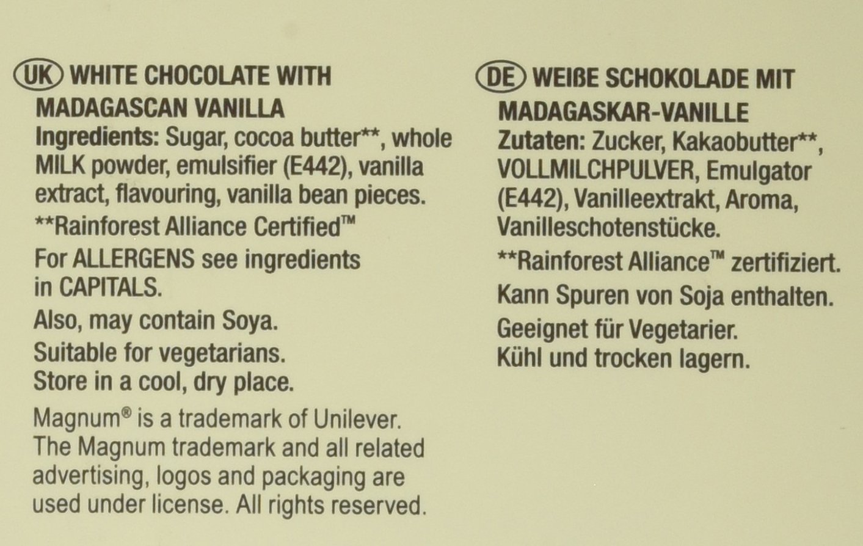 Magnum Tafel White, 90 g: Amazon.de: Lebensmittel & Getränke