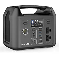 $299 » GOLABS Portable Power Station, 299Wh LiFePO4 Battery Backup, PD 60W Type-C Quick Charge,…