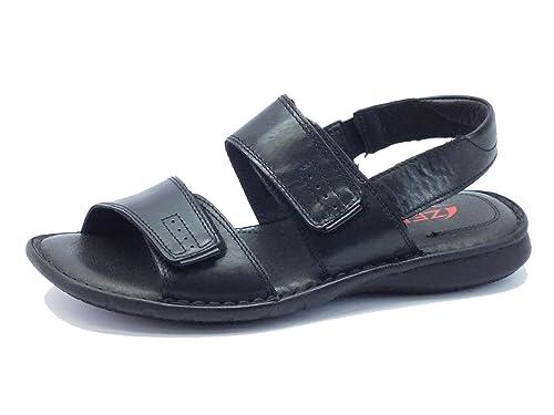 Primigi LARS-E 8085377 - Sandalias de cuero para niños, color azul, talla 21