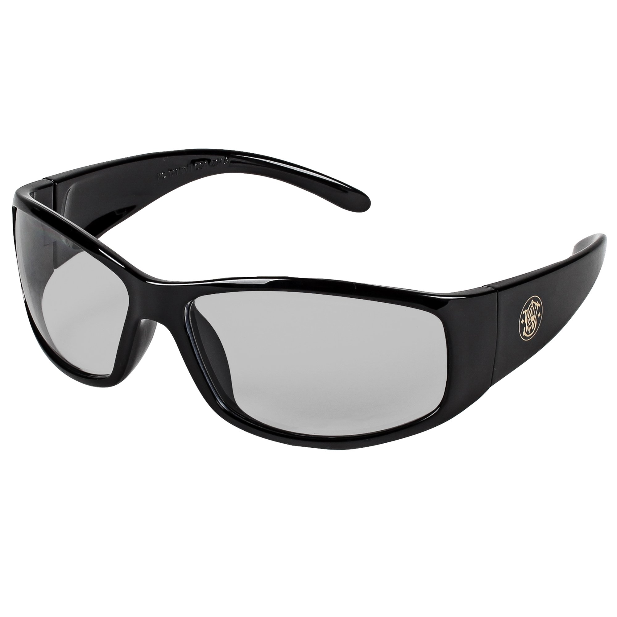 Smith and Wesson Safety Glasses (21306), Elite Safety Sunglasses, Indoor / Outdoor Lenses with Black Frame, 12 Pairs / Case
