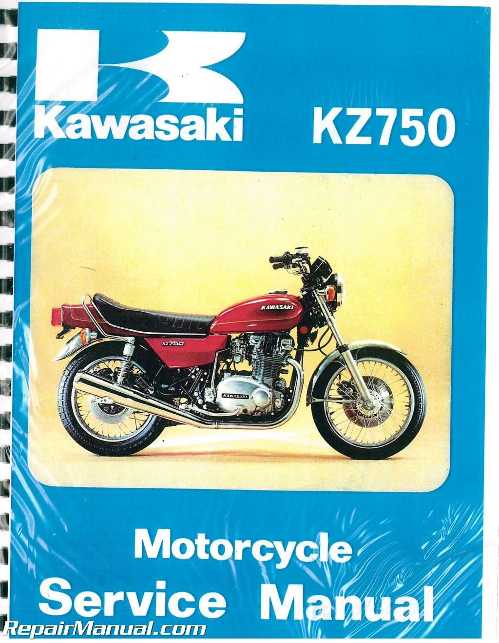 99997-744-04 1976 ? 1979 Kawasaki KZ750 B Twin Motorcycle Service Manual:  Manufacturer: Amazon.com: Books
