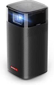 Anker Nebula Apollo, Wi-Fi Mini Projector, 200 ANSI Lumen Portable Projector, 6W Speaker, Movie Projector, 100 Inch Picture, 4-Hour Video Playtime, Neat Projector, Home Entertainment—Watch Anywhere