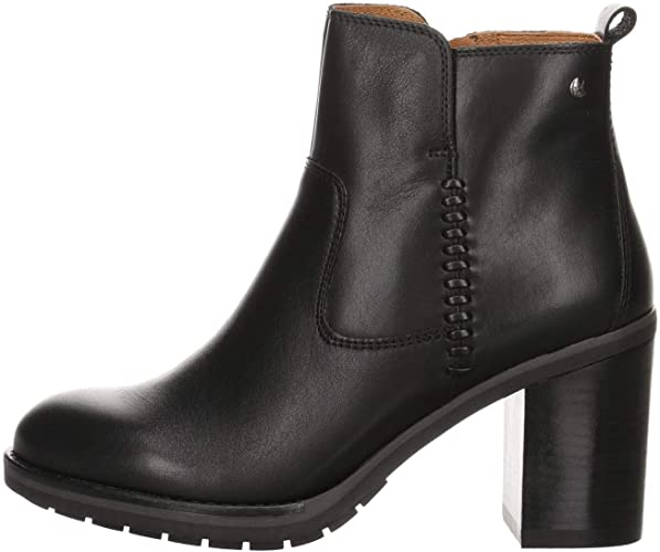 Pikolinos Leather Ankle Boots POMPEYA
