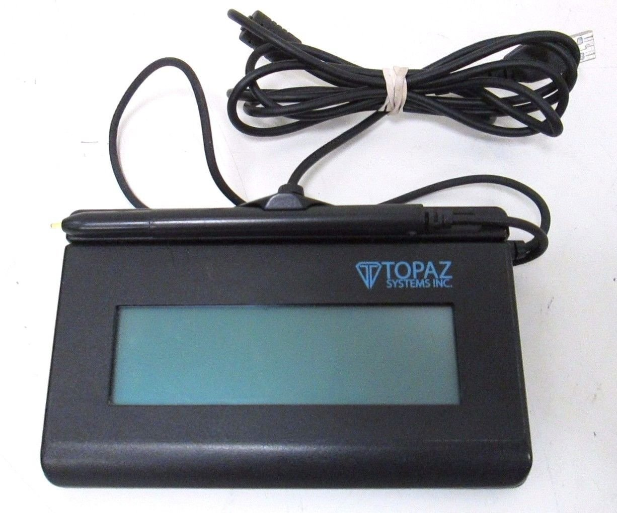 Topaz T-LBK462-BSB-R SignatureGem 1X5 Backlit LCD Signature Capture Pad - USB/Virtual Serial.