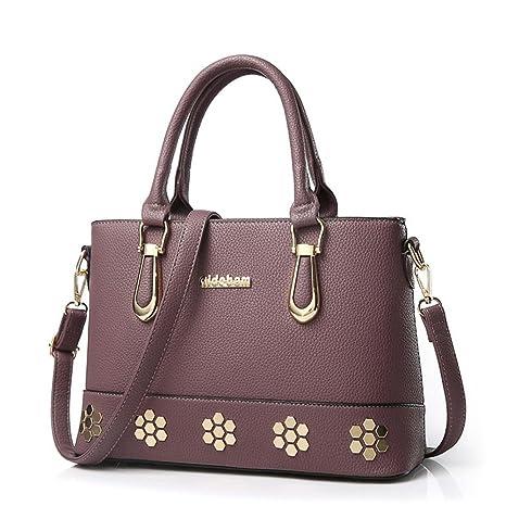 08c10ffb2a2 Honeymall Bolsos de mano para mujer exquisito relieve bolsos tous  32*12*22.5 cm