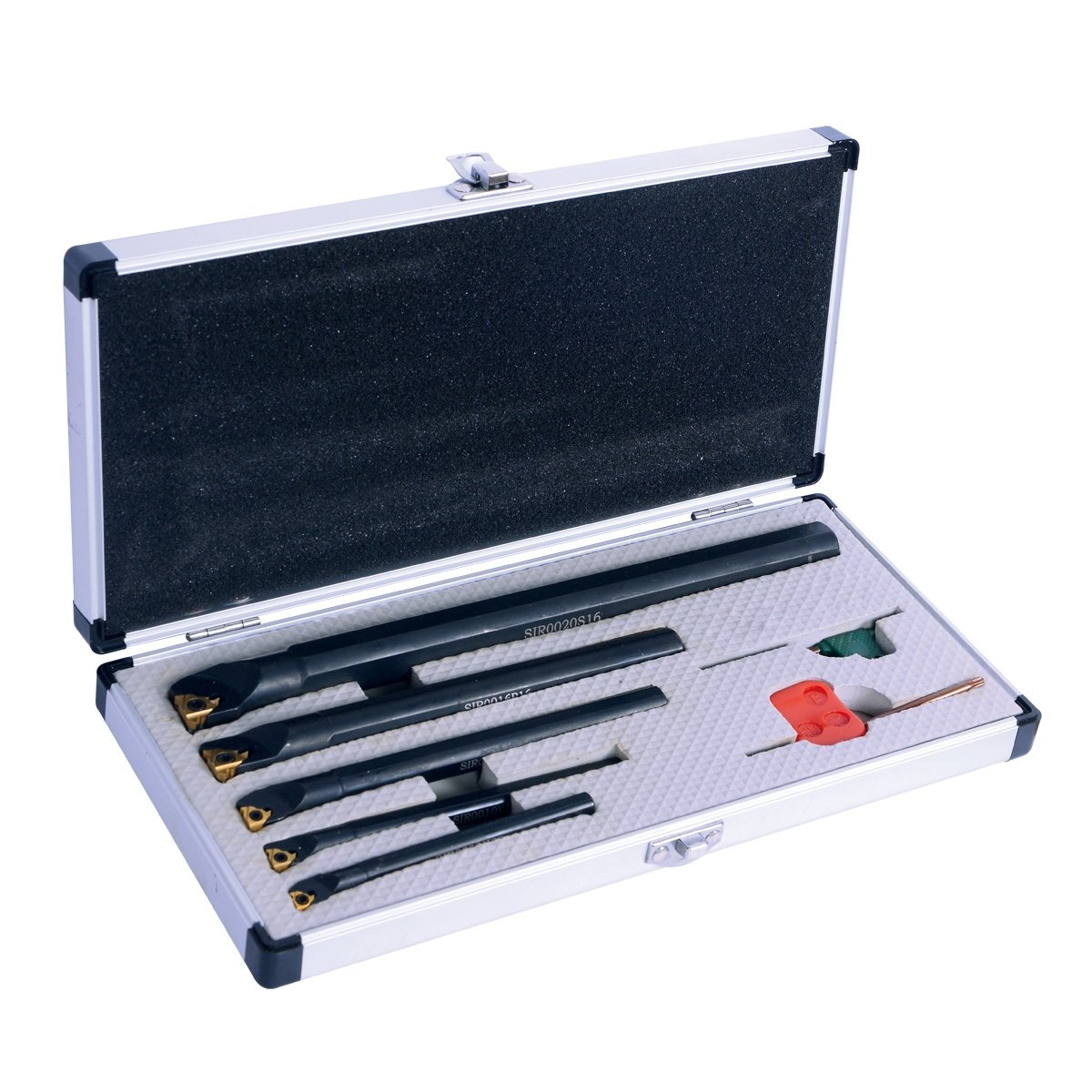 HHIP 2305-1005 5 Piece Index able Internal Threading Tool Holder Set