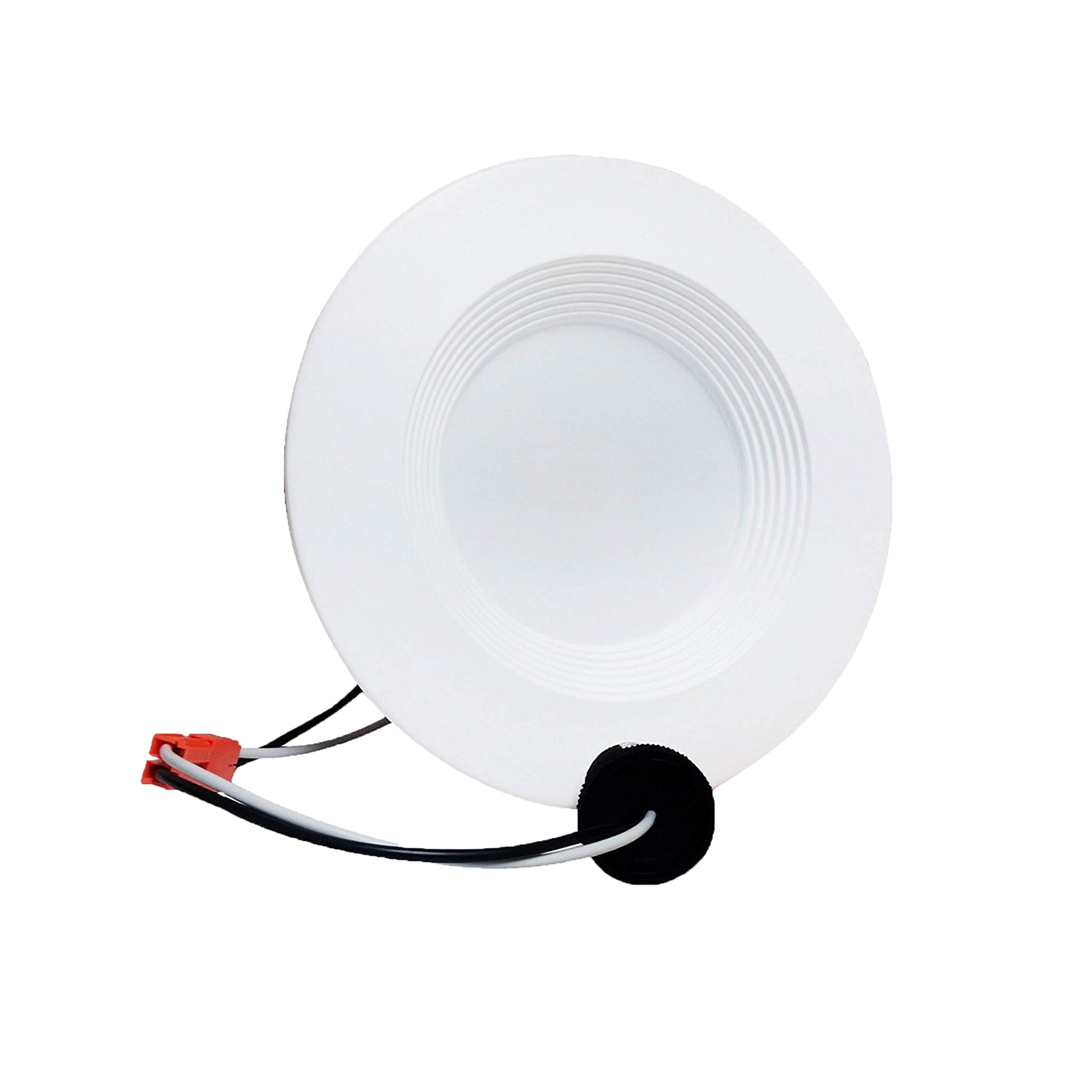 5''/6'' NG LED Baffle Trim Downlight,1000 Lumens, 2700K 15W, Recessed Retrofit, ETL Listed, Energy Stargh (1 Pack)