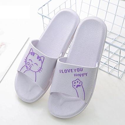 NACOLA antiscivolo pantofole donna doccia bagno ciabatta sandali acqua scarpe per estate, 3, us9-10 for women