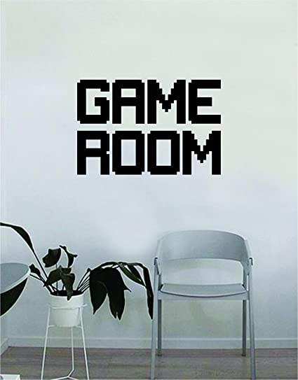 Amazon Com Game Room Wall Decal Quote Home Room Decor Decoration