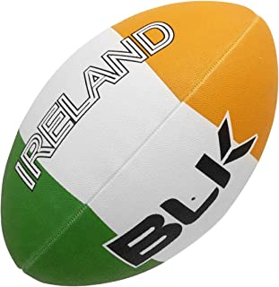 BLK Nationenball Irland Ballon de Rugby Mixte, Grün/Weiß/Orange, 5 Grün/Weiß/Orange UHLAA|#uhlsport 420120501